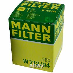 Huile moteur 5 L MANNOL Diesel TDI 5W-30+MANN-FILTER VW Passat 362 1.4 TSI