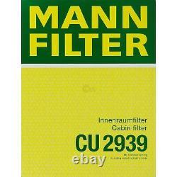 Huile moteur 5 L MANNOL Diesel TDI 5W-30+ MANN-FILTER VW Touran 1T1 1T2 1.4 TSI