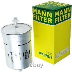 Huile moteur 6L MANNOL Diesel TDI 5W-30+MANN-FILTER VW Golf III 1H1 2.8 VR6