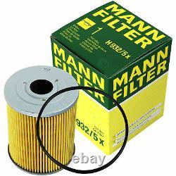 Huile moteur 6L MANNOL Diesel Tdi 5W-30 + Mann Filtre Luft VW Golf III 1H1 2.8