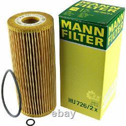 Huile moteur 8L MANNOL Defender 10W-40 + Mann-Filter filtre Audi A3 8L1 1.9 Tdi