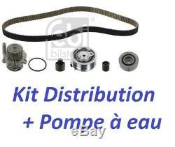 KIT DISTRIBUTION + POMPE A EAU VW GOLF PLUS (5M1, 521) 1.6 TDI 105ch