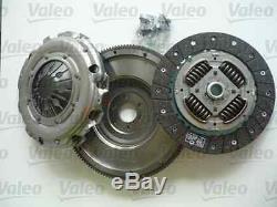 KIT EMBRAYAGE 4P + VOLANT MOTEUR VALEO VW GOLF 5 1,9/2,0TDI de 10/2003 à 11/2008