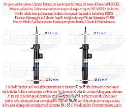 Kit 4 Amortisseurs BILSTEIN B4 VW GOLF V (1K1) 1.9 TDI Kw 66 Cv 90