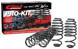 Kit 4 RESSORTS COURT EIBACH PRO-KIT VW GOLF SPORTSVAN (AM1) 2.0 TDI 150 CH