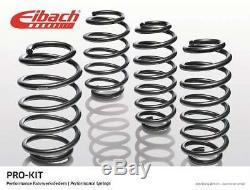 Kit 4 Ressorts Court EIBACH PRO-KIT VW GOLF IV (1J1) 1.9 TDI 110 CH