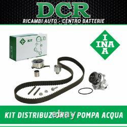 Kit Courroie de Distribution Ina + Pompe à Eau Bugatti VW Golf VII 1.6 Tdi 110CV