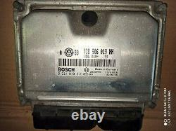 Kit Demarrage Ecu Volkswagen Vw Golf Mk4 4 IV 1.9 Tdi 150 CV 0281010976 145 000