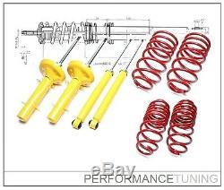 Kit Suspension Sport, Amortisseurs + Ressorts -40/-40mm VW GOLF 3 94-97 TDI