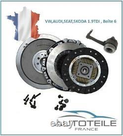 Kit embrayage + Butée SKODA Fabia, Octavia, 1.9TDI 115,130,150ch 835050