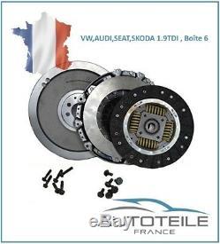 Kit embrayage rigide AUDI A3 (8L) 1.9TDI de 10/1998 à 05/2003, Boîte 6 835050