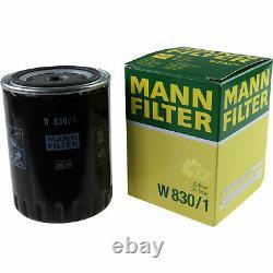 LIQUI MOLY 5L 5W-40 huile moteur + Mann-Filter VW Golf III Variant 1H5 1.9 Tdi