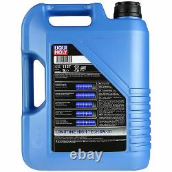 LIQUI MOLY 6 L 5W-30 huile moteur + Mann-Filter Skoda Superb 3U4 2.5 Tdi