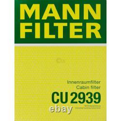 MANNOL 5L Energy Premium 5W-30 + Mann-Filter filtre Skoda Octavia 1Z3 2.0 Tdi