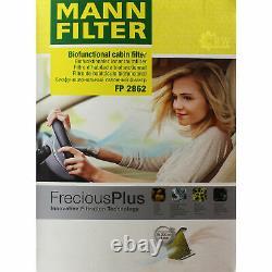 MANNOL 5L Extreme 5W-40 huile moteur + Mann-Filter VW Golf IV 1J1 1.9 Tdi