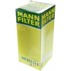MANNOL 8L Nano Tech 10W-40 huile moteur + Mann-Filter pour Audi A3 8L1 1.9 Tdi