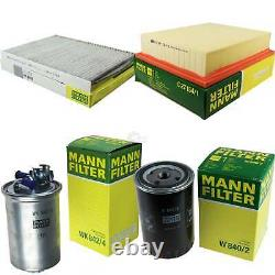 MANN-FILTER Inspection Set pour VW Golf III Variant 1H5 1.9 Tdi Syncro