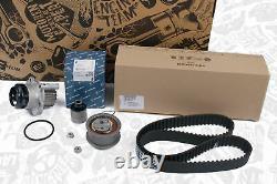 Original Kit Courroie de Distribution + Pierburg Pompe Audi A3 Skoda VW 1,9 Tdi