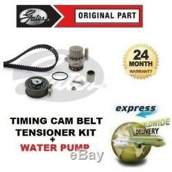 Pour VW Golf 1.9 Tdi 1999-2001 Tendeur Courroie de Distribution + Eau Kit Pompe