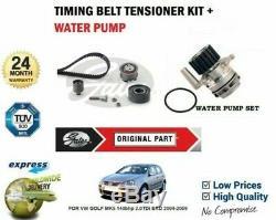 Pour VW Golf MK5 140bhp 2.0TDi Bkd 2004-2009 Eau Pump + Kit Courroie
