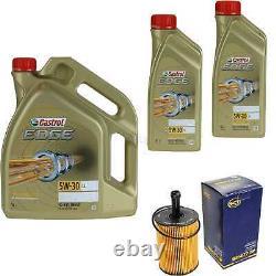 Révision Filtre Castrol 7L Huile 5W30 Pour VW Passat Modèle 3C5 2.0 Tdi
