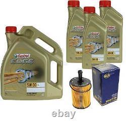 Révision Filtre Castrol 8L Huile 5W30 Pour VW Passat Variant 3C5 2.0 Tdi