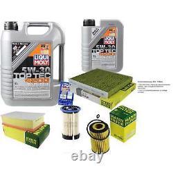 Révision Filtre LIQUI MOLY Huile 6L 5W-30 Pour VW Passat Variant 3G5 2.0 Tdi