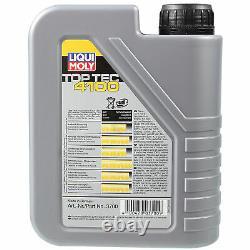 Révision Filtre LIQUI MOLY Huile 7L 5W-40 Pour VW Passat Tous Suivre 365 2.0 Tdi