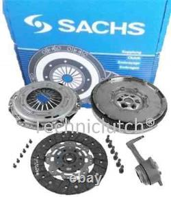 Sachs Volant Moteur Bimasse, Kit Embrayage, Csc VW Golf 1.9 Tdi 1.9TDI 150