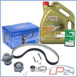 Skf Kit De Distribution+5l Castrol 5w-30 LL Seat Leon 1m 1.9 Tdi 03-06