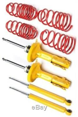 VW Golf 4 1.9 TDI 90 kit suspension ressorts amortisseurs