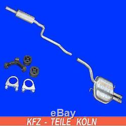 VW PASSAT (3C2,3C5,357) CC VARIANT 2.0 TDI 120KW 125KW moyen + silencieux + Kit