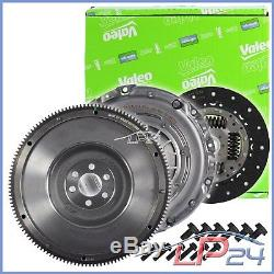 Valeo Kit D'embrayage+volant Vw Golf Plus 5m 5 1k 6 5k Aj 2.0 Tdi