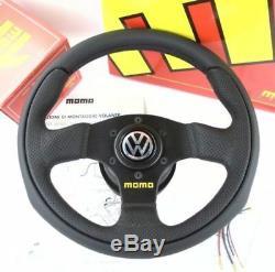 Véritable Momo Équipe 280mm Direction Roue, Moyeu Kit, VW Corne. Beetle 1300