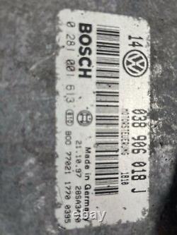 Volkswagen Golf 4 1.9 Tdi 110cv Kit Demarrage Calculateur 038906018j 028100613