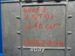 Vw Golf 3 1.9 Tdi Kit Démarrage Calculateur Moteur 028906021gh 0281001651/652
