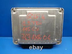 Vw Golf 4 1.9 Tdi Kit Calculateur Moteur 028101030 038 906 019 Cj 038906019cj