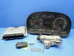 Vw Golf 4 1.9 Tdi Kit Calculateur Moteur 0281010977 038906019hj